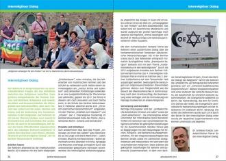 Layout Broschüre: Gestaltung des Jahresberichts Berliner Missionswerk 2014
