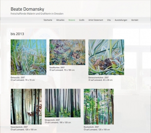 Webdesign Berlin Beate Domansky