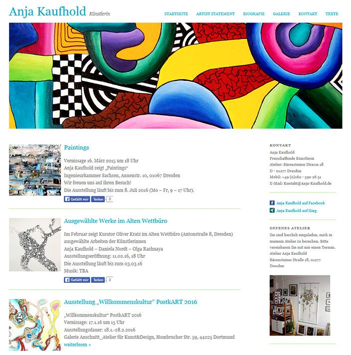 Webdesign Berlin Anja Kaufhold